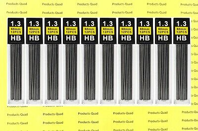 1.3mm Mechanical pencil lead refills 1.3mm leads refills, 96 leads. FREE COLOR