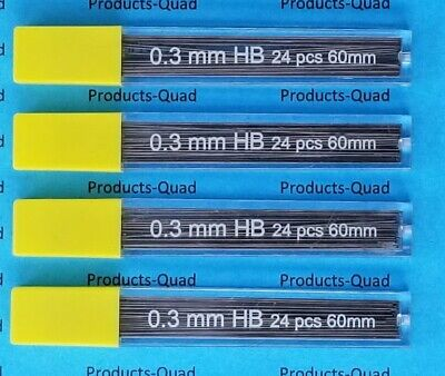 0.3 mm Mechanical pencil lead refills .3mm leads refills, 96 lead refill 0.3 mm