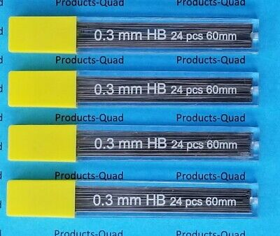 0.3mm Mechanical pencil lead refills .3mm leads refills, 360 lead refill 0.3 mm