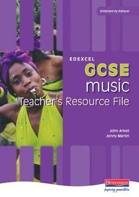 Edexcel GCSE Music Teachers Resource File (Ed... by Arkell, Mr John Spiral bound