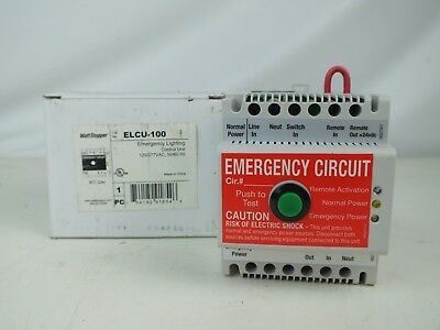 New Wattstopper ELCU-100 Emergency Lighting Control Unit