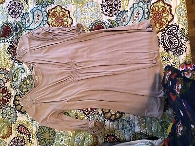 small maternity clothes lot 9 long sleeves and a sweater