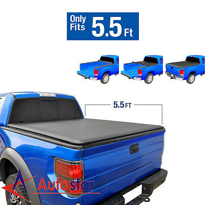 Jdmspeed 5 5 Short Bed Roll Up Soft Tonneau Cover For 2004 2018 Ford F 150 148 97 Picclick