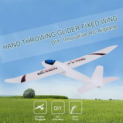 FX-706 1210mm Wingspan Hand Throwing Glider Fixed Wing RC Racing Airplane I6W5