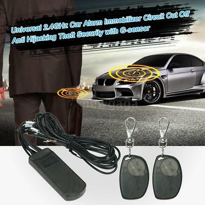 Universal Car Alarm Immobilizer Anti Hijacking Theft Security With G-Sensor E1P4
