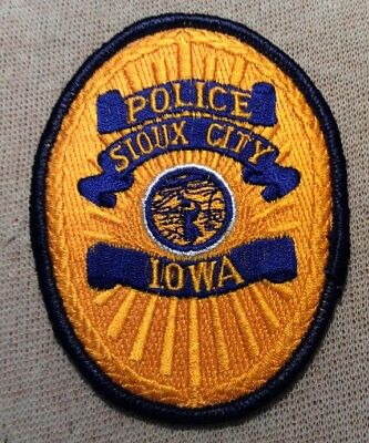 IA Sioux City Iowa Police Patch