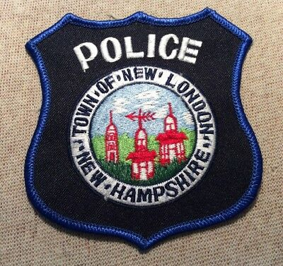 NH New London New Hampshire Police Patch
