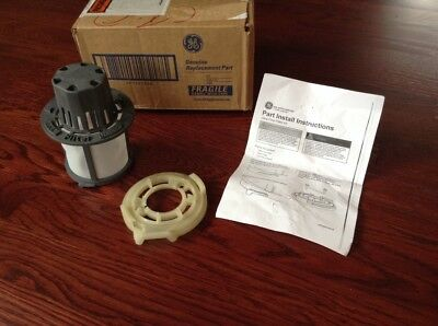 GE Ultra Fine Filter Kit with Base Plate & Instruction WDOOX24016 for Dishwasher