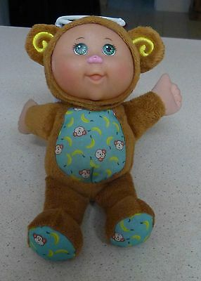 Small Cabbage Patch Baby - Monkey Suit- Cpk - Oaa / Jakks Pacific - 2011