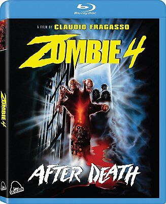 Zombie 4: After Death Blu-ray + CD Severin Region Free Limited Edition NEW