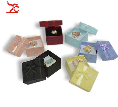 24pcs Assorted color Jewelry Gift Boxes for Jewelry Display Ring studs earning