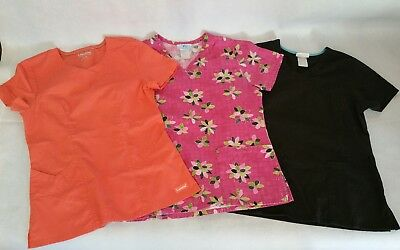 Lot of 3 Scrubs Tops EXTRA SMALL