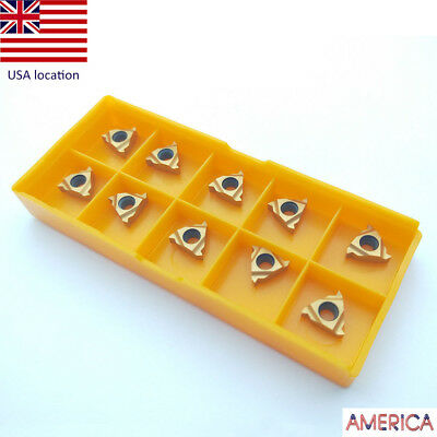 US- 10pcs 11IR A60 Inner hole thread tool for SNR HOLDER for steel