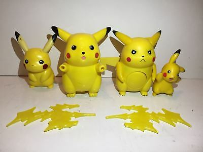 Pokemon Figures Pikachu lot