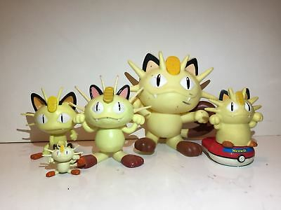 Pokemon Figures Meowth lot