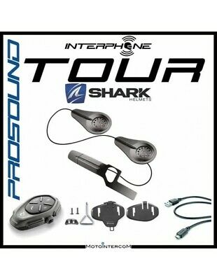 RXAU Single tour Interphone Cellularline Pro Sound SHARK