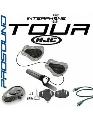 RXUK Single tour Interphone Cellularline Pro Sound HJC