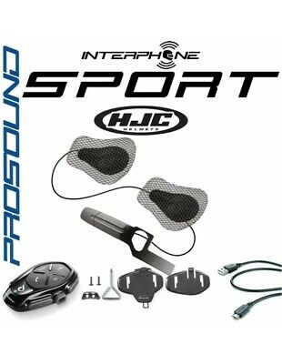 RXUK Single Sport Interphone Cellularline Pro Sound HJC