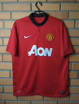 318ac1a440d Manchester United Home football shirt 2013 - 2014 Size L jersey soccer Nike