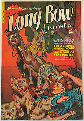 Long Bow #3 (1951) Fiction House, Maurice Whitman, VF range. Best copy on ebay.