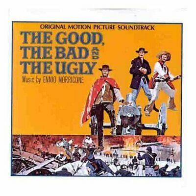 Ennio Morricone : The Good, The Bad & The Ugly OST CD