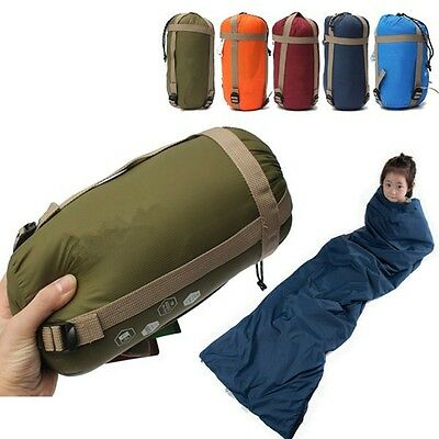Ultra-light Envelope Sleeping Bag Outdoor Camping Thermal Tent Hiking Waterproof