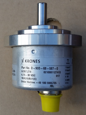 Rotary Encoder KRONES 0-900-68-587-0 made in Germany for machine Automation PLC