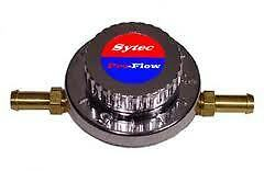 Sytec 10mm Fuel Regulator and push on ends Brisca