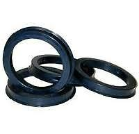Set Of 4 Spigot Rings  74.1-72.6 To Suit  BMW Wheels 74.1 on to Car 72.6
