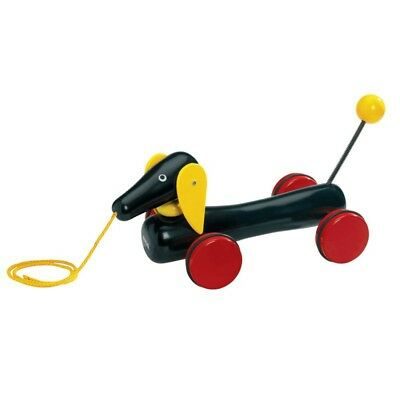 Brio - Large Dachshund Pull Along Wooden Toy