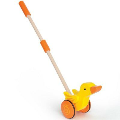 Hape - Push Along Pals - Duck