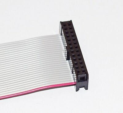 RIBBON CABLE ASSEMBLY 26 WAY FEMALE TO FEMALE 150mm LONG