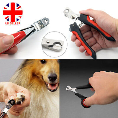 Pet Dog Cat Puppy Bird Nail Paw Claw Clipper Scissors Cutter Trimmer Grooming UK