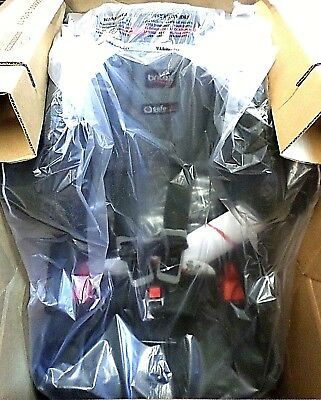 Frontier Booster Seat Britax Clicktight in Vibe Energy Absorbing Foam Armrests
