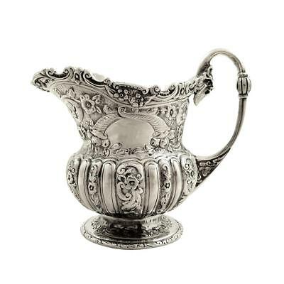 Antique Victorian Sterling Silver Jug / Creamer - 1899