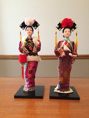 Chinese Dolls two souvenirs