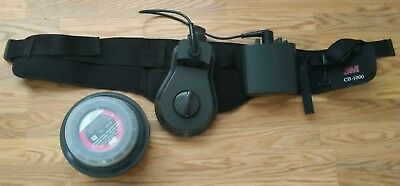Used 3M GVP-100 MOTOR BLOWER Battery Waist Band and Filter!