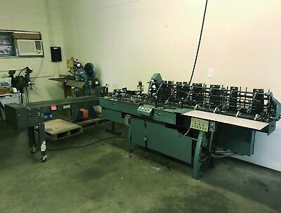 Inserco 9800 by Mailcrafter - 6 Station Inserting Machine