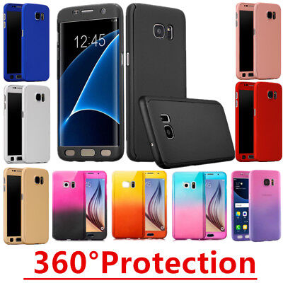 Hybrid 360 New Shockproof Case Tempered Glass Cover For Apple iPhone 6 6s 7 plus