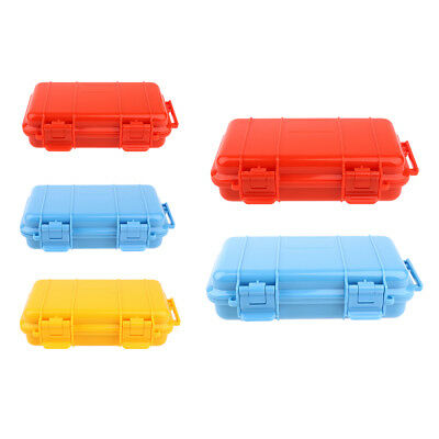 Outdoor Shockproof Survival Case Airtight Container Storage Carrying Box Kit