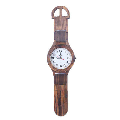 Antique Wooden Watch Wall Clock Decorative Wood Wall Clock Home Collections