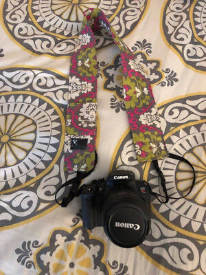 Canon EOS Rebel T4i / EOS 650D 18.0MP Digital SLR Camera with extras!