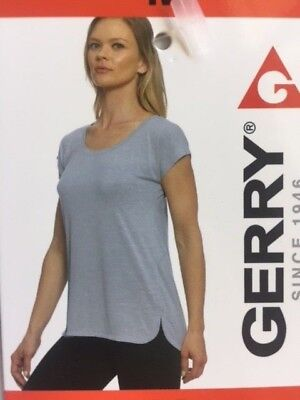 Gerry Short Sleeve Shirt Womans Various Sizes Ash Gray New