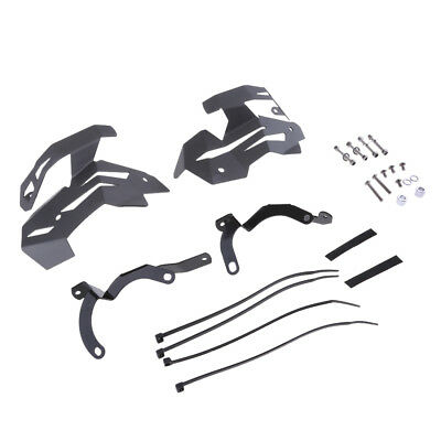 Valve Protectors Guards Covers Kit for BMW R1200GS LC 2013 2014 2015 Grey