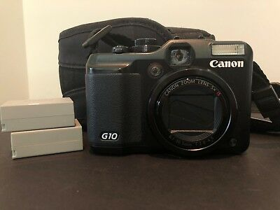 Canon PowerShot G10 Compact Digital Camera with Built-in Flash, 14.7 Megapixel,
