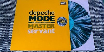 """Depeche Mode MaxiLP """" Master And Servant """" L12Bong6 INT 126.826 in MULTIFARBE"""