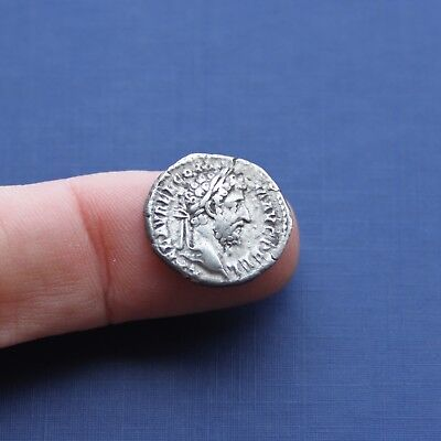 Imperial Roman Silver Coin Denarius Of Commodus c 177 AD