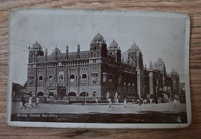 Bombay General Post Office by Tucks - see condition info in description