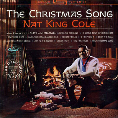 Nat King Cole The Christmas Song Capitol Records Vinyl LP