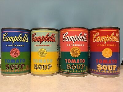 Limited Edition ANDY WARHOL Campbells Soup Cans Set. PLEASE READ! Free Shipping